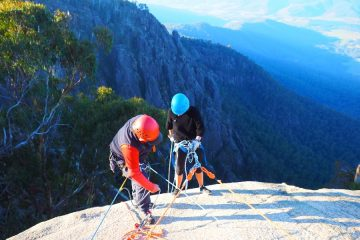 Abseiling at Mt Buffalo VIC