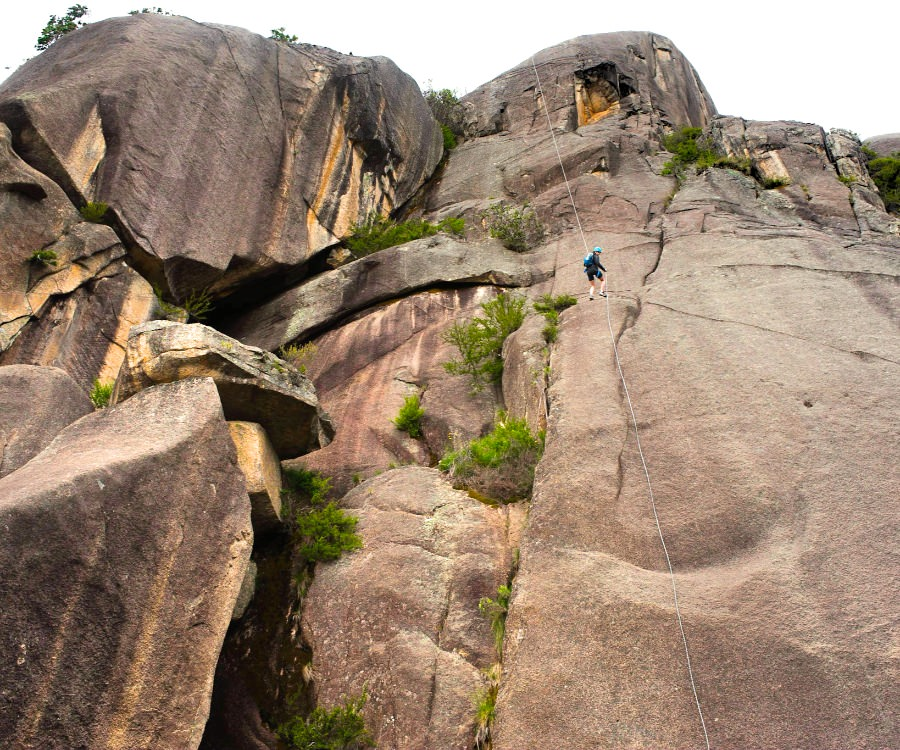 Big Abseil at Mt Buffalo