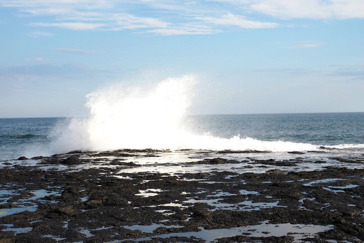 Waves at the Gunnery Rocks