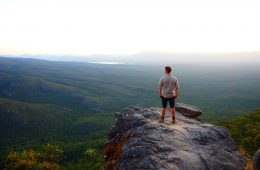 Inspiring view from the Balconies in the Grampians