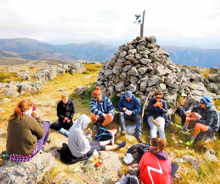 Lunch at Mt Loch Summit