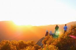 Mt Oberon Sunrise Wilsons Prom