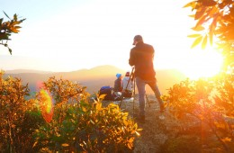 Nailing that Mt Oberon Sunrise