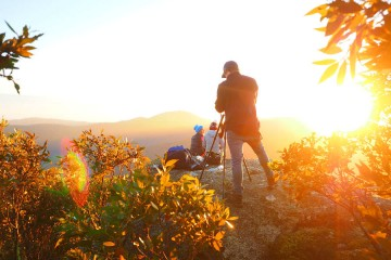 Nailing that Mt Oberon Sunrise