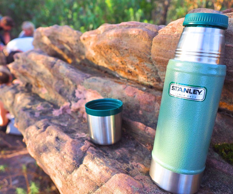 Stanley 16oz Vacuum Flask in its element