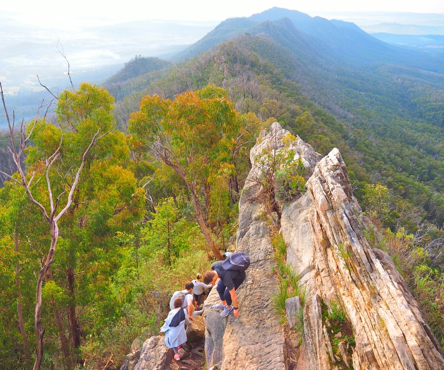 Stunning views on the Cathedral Ranges Southern Circuit Hike
