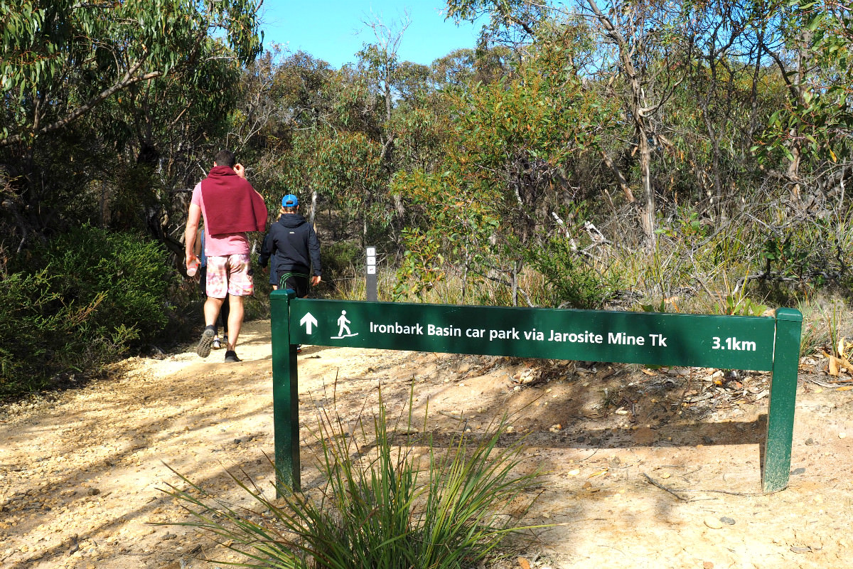 Ironbark Basin to Point Addis Coastal Walk