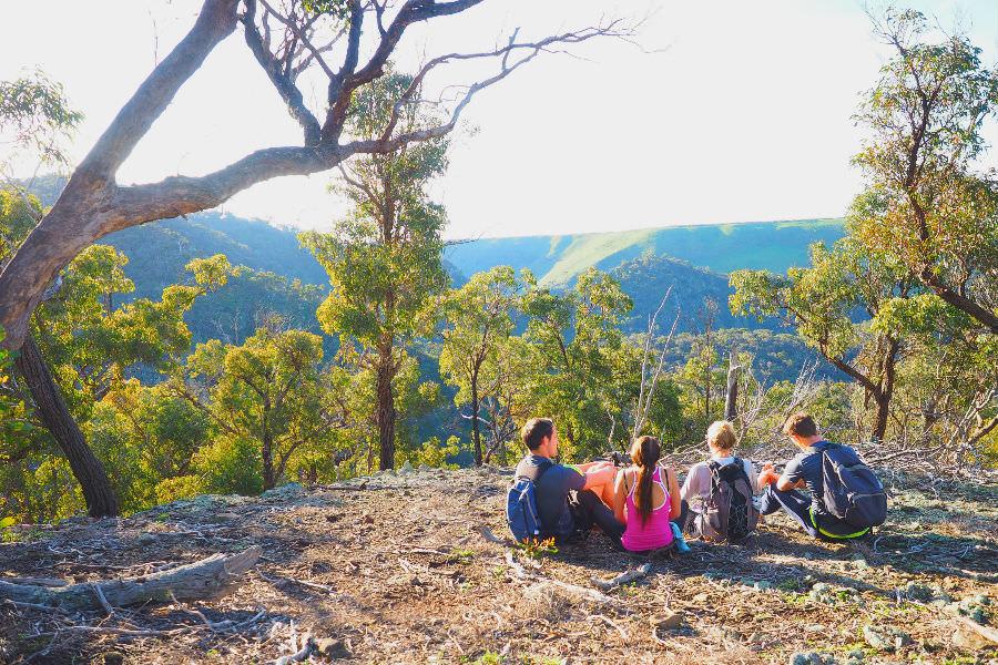 Views of Werribee Gorge