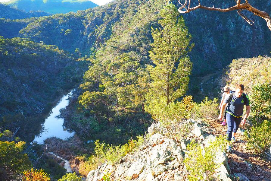 Werribee Gorge Hiking Trail