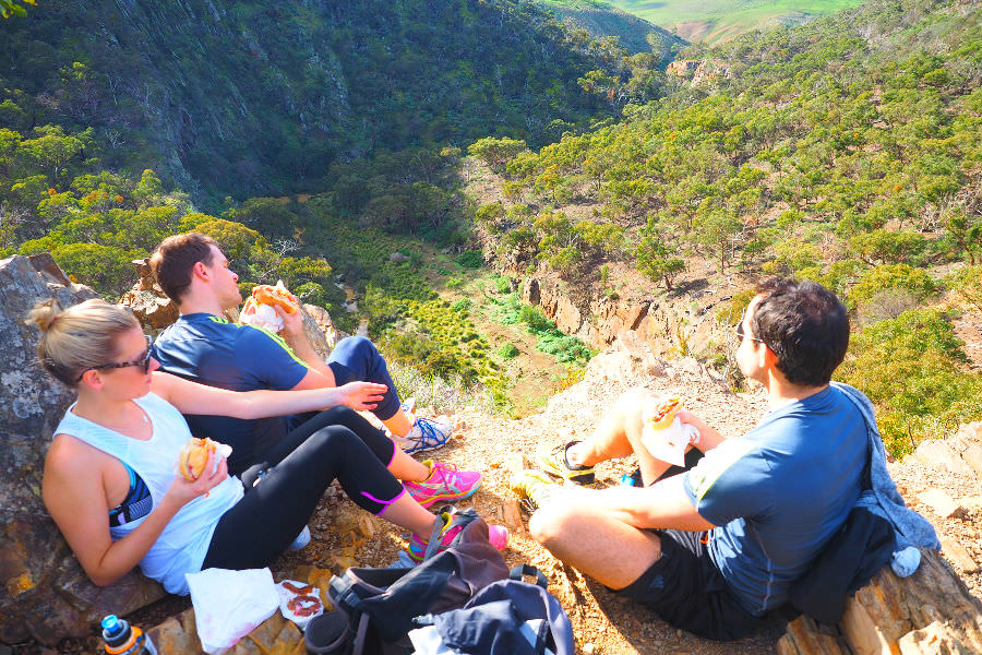 Werribee Gorge Circuit Walk Lunch Stop