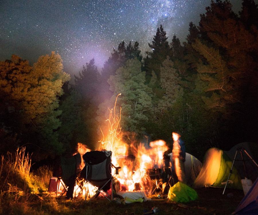Camping at Beauchamp Falls
