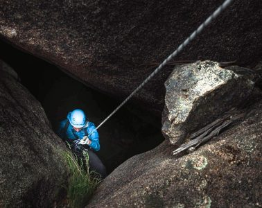 Caving and abseiling Mt Buffalo
